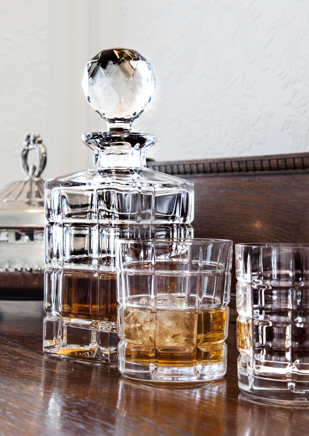 TIME SQUARE WHISKY GLASS