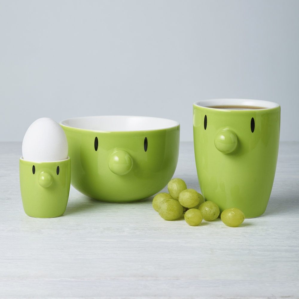 HOPTIMIST, EGGEGLASS - LIME Sett av to 21111-55